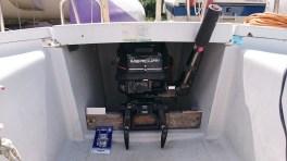 La manette des gaz, en plein dans le passage