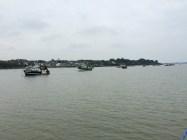 Les bateaux de pêche de Tréhiguier
