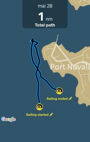 Sailing Log - mai 28 - 2