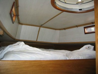 Aft cabin before