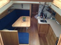 Main cabin after