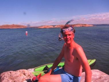 Ivar of Sailors for Sustainability at the Kosterhavet snorklingtrail