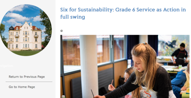 Sailors for Sustainability at Munich International School