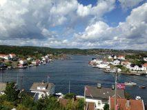 View on Lyngøya islands