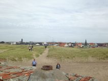 View on Thyborøn from a WW2 bunker