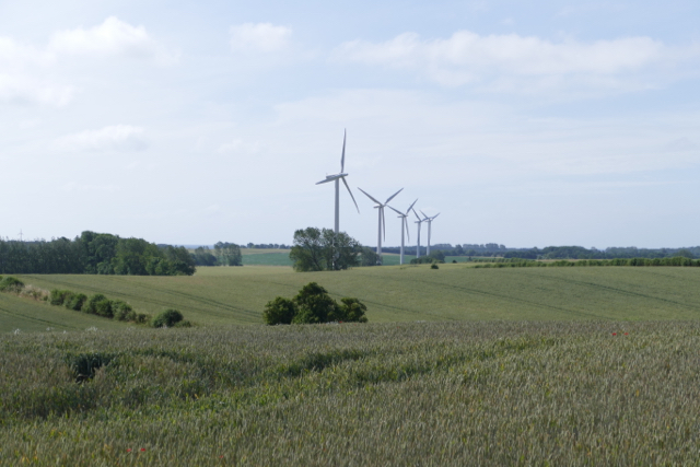 Samsø wind turbines