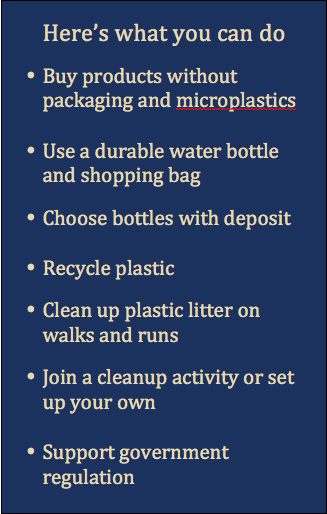 What you can do Plastics