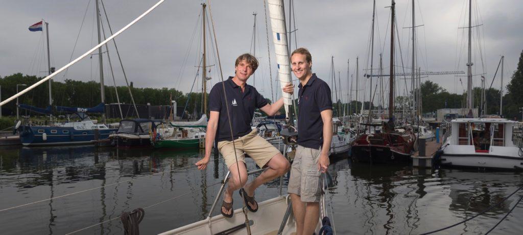 Ivar Smits and Floris van Hees by Oliviier Middendorp