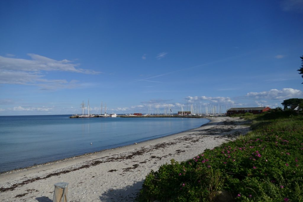 View on Ballen Harbour