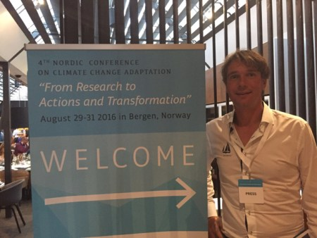 climate change adaptation conference in Bergen