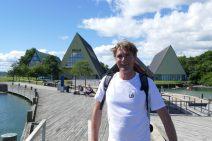 Ivar at the maritime museum