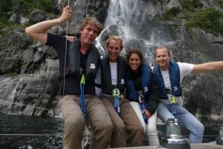 waterfall Lysefjord