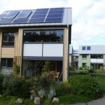 Eco village Findhorn modern sustainable homes