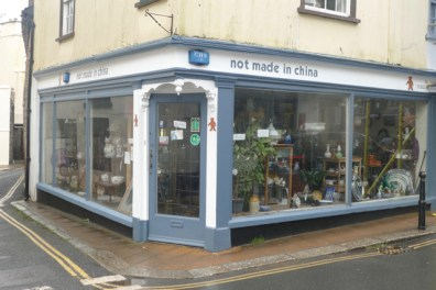 """Totnes """"Not made in China"""" store"""