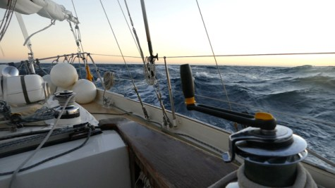Sailing the Bay of Biscay