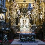 St James altar in Santiago Cathedral