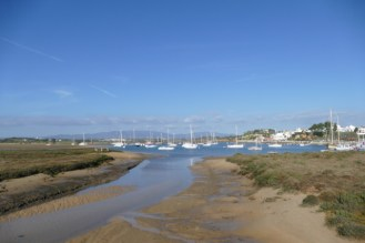 Alvor anchorage