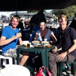 Lunch at the local market in Castro Marin