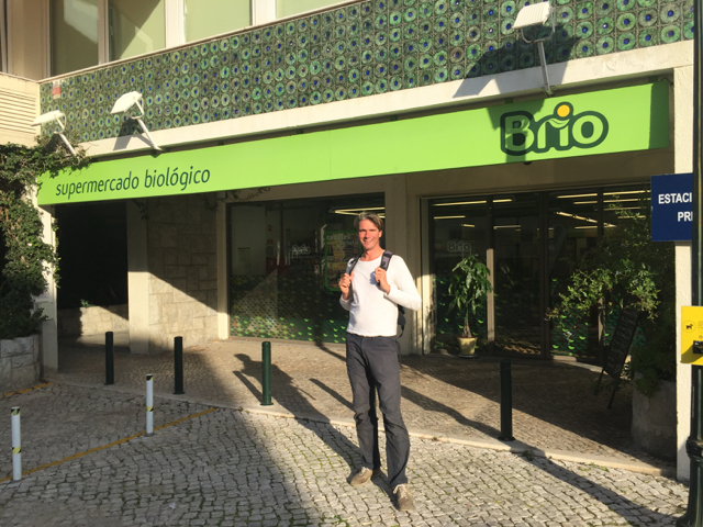 Our first organic supermarket in Portugal