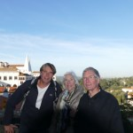 With Ivars parents in Sintra