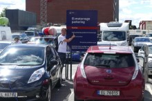 Free parking for electric cars in Oslo