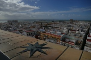 View on Cádiz from Tafira tower