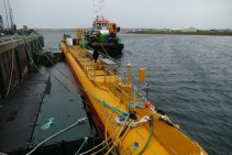 Marine Energy - Floating tidal turbine SR2000 ready for launch