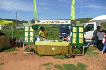 Casita Verde at the Saturday local & organic market