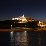 Dalt Vila at night