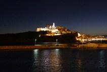 Dalt Vila at night
