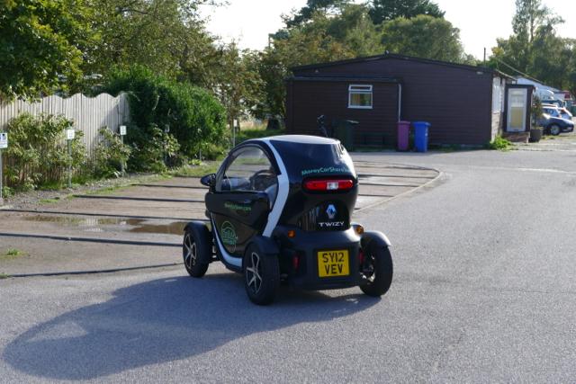 Findhorn electric car sharing program