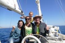 Greenheart - Casita Verde crew onboard