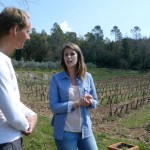 Organic grapes explained at Chateau Margui