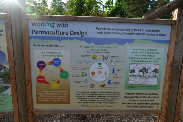 Permaculture design principles at Ecovillage Findhorn