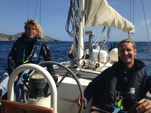 Sailing with Truus