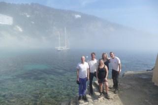 Sea-fog in Cala Llonga
