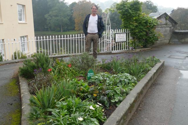 Ivar at a public garden
