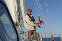 Italian flag ceremony
