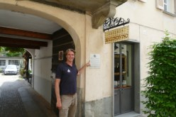 Ivar at the first Slow Food restaurant