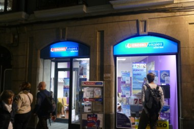 Eroski travel store