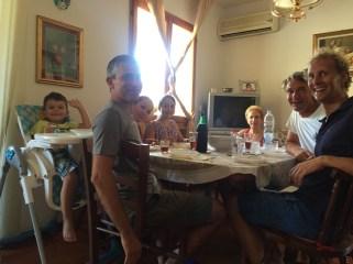 Lunch at Fabio's parents