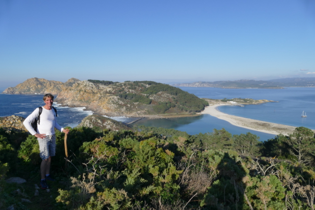 Rewarding view from Islas Cies
