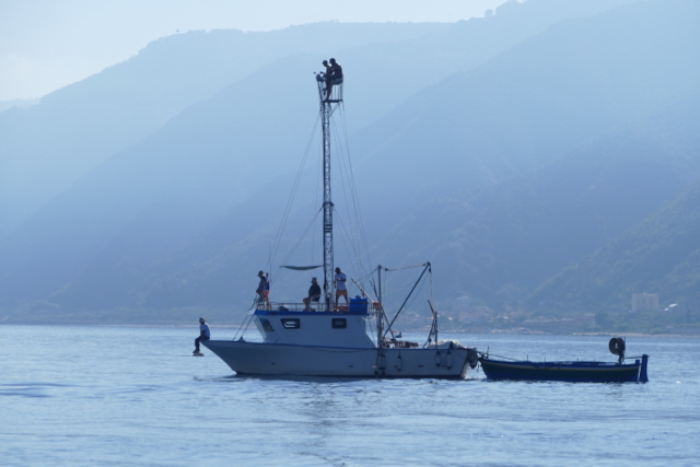 Messina swordfish boat
