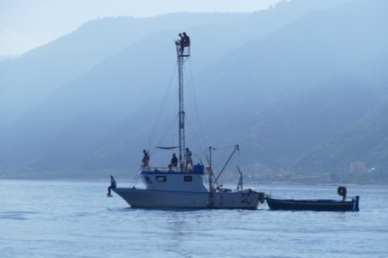 Messina swordfish boat