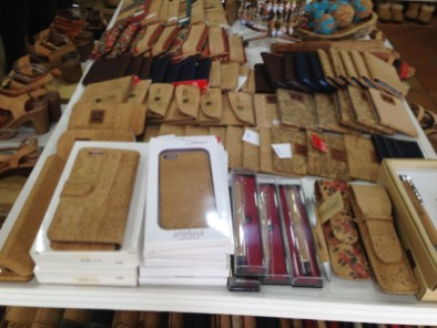 Creative smart phone accessories with cork