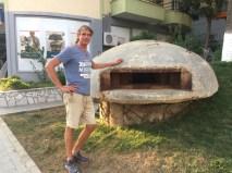 One man bunker in Sarande