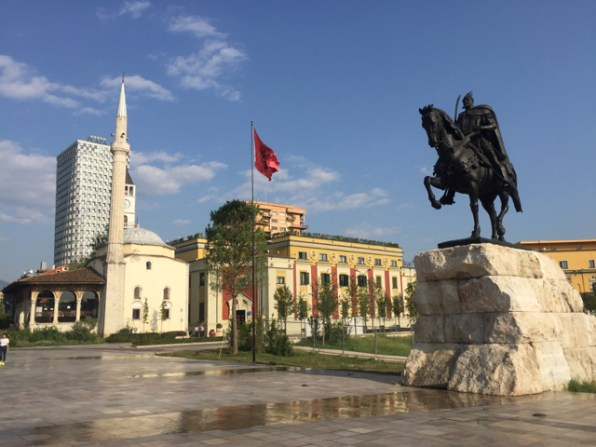 Tirana main square