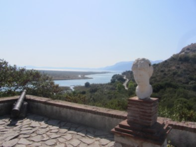 View on Corfu from Butrint