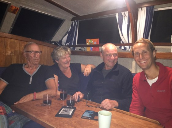 With Hans, Anneke and Ton