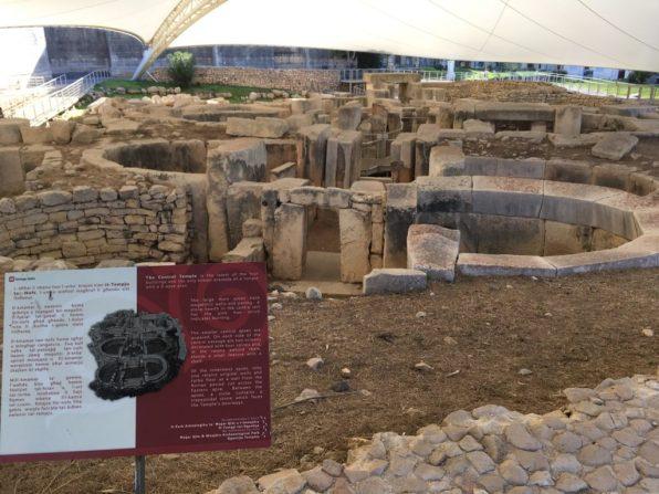 Ancient Tarxien temples